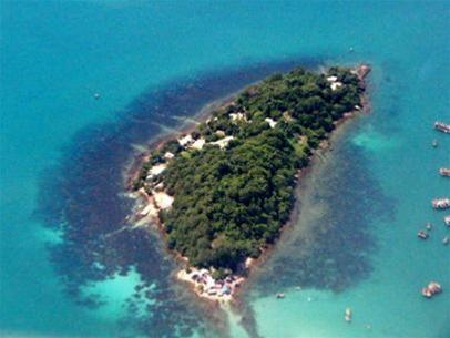Die tropfenförmige Insel Phu Quoc