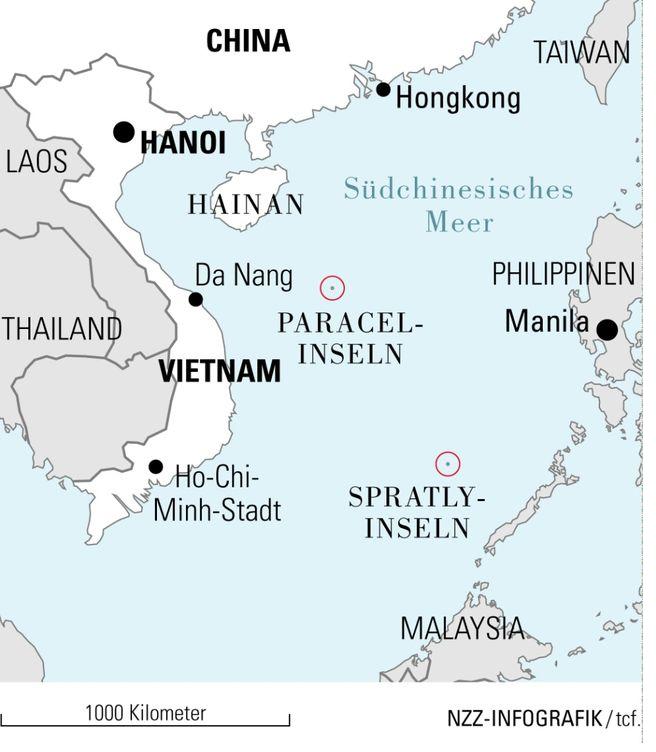 Foto: Vietnam - die Form von der Buchstabe S