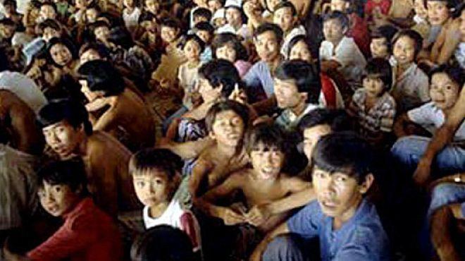 Vietnamesischer Flüchtlingsstrom