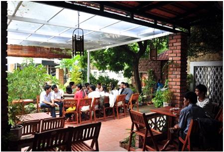 Foto: ein Café in Hue