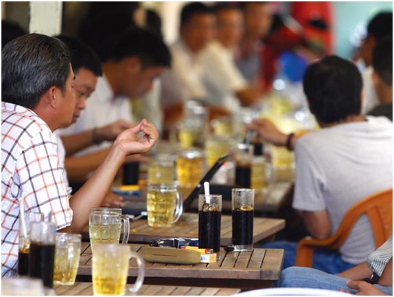 cafe in Saigon