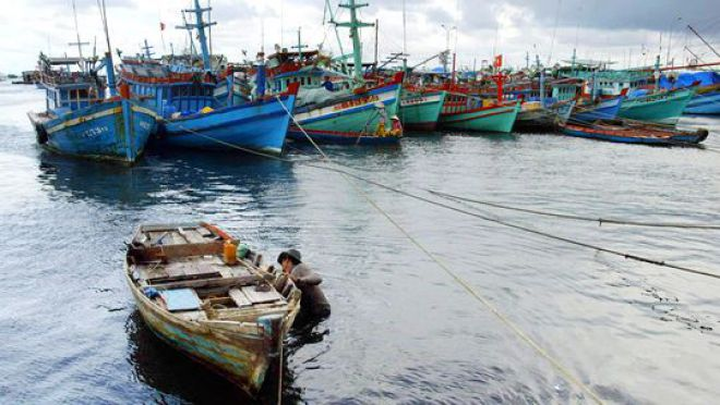 Ein Fischer in Phú Quốc, der größten vietnamesischen Insel | © Hoang Dinh Nam/AFP/Getty Images